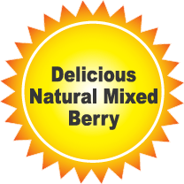 Delicious Natural Mixed Berry