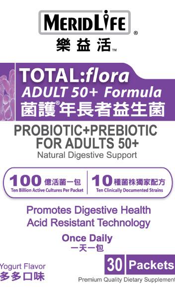 Essential Probiotics Senior Supplement Facts